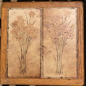 Boho Botanical Trivet